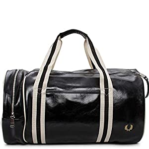 Fred Perry Classic Barrel Hombre Holdall Azul