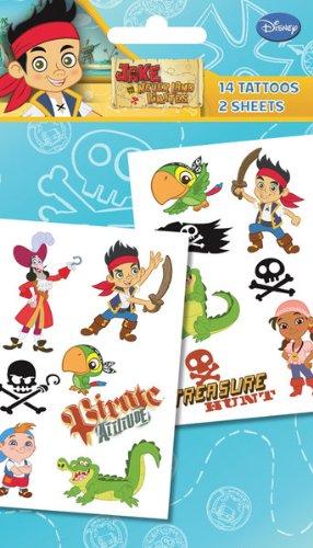 Disney Junior Tatouages temporaires Jake et les pirates du Pays imaginaire