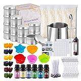 Ranana Kit de fabricación de Velas de Bricolaje Suministros de fabricación de Velas perfumadas Kit de fabricación de Velas de Soja DIY Set de Regalo de San Valentín Well-Suited
