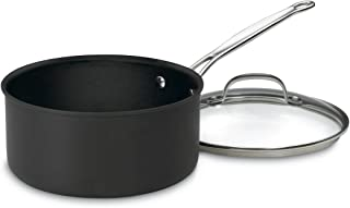Cuisinart 6193-20 Chef's Classic Nonstick Hard-Anodized 3-Quart Saucepan with Lid