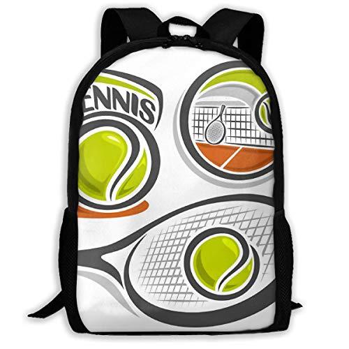 Sac à Dos Scolaire Équipement de Tennis Sac à Dos pour Ordinateur Portable école Sacs Voyage Camping Outdoor Daypack