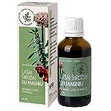 Extracto de raíz de Valeriana con Magnesio y gotas líquidas de tintura sin alcohol de espino 50 ml, suplemento alimenticio, vegano