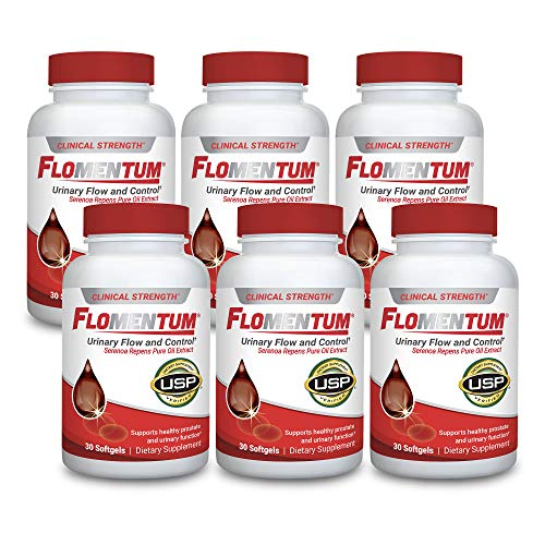 Flomentum® USP Verified Saw Palmetto Prostate Supplement for Men - Supports Healthy Urinary Function - Clinical Strength Extract- (180 Count)