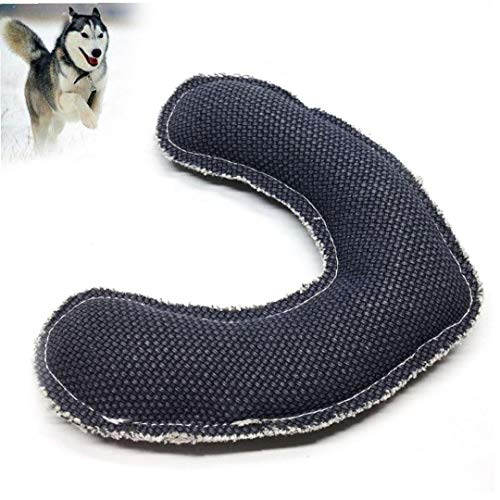 shentaotao Hunde Boomerang, Haustier Fetch Toy, 1 * schwarz