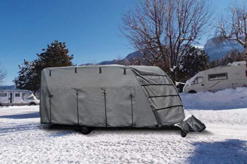 BRUNNER 7241464N Schutzhülle Caravan Cover 6M, 600-650 cm