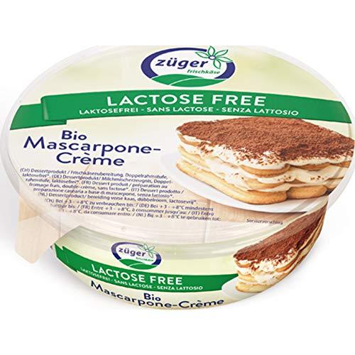 Züger Frischkäse AG Bio Züger Bio Mascarpone laktosefrei 250g (6 x 250 gr)