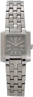 ساعة يد للنساء من اولوفيرا، مربعة الشكل، فضي، OL1527