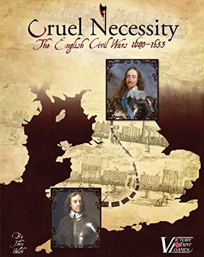 Cruel Necessity - English Civil Wars Historical Boxed Board Game by Victory Point Games