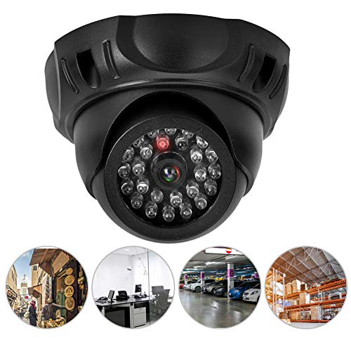 Dummy camera, dome simulatie camera Dummy Fake Security Monitor bewakingscamera met LED licht