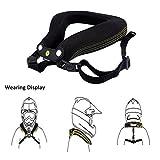 Minerve Cervicale Moto, Collier Cervical Protection Réduire la Fatigue Neck Brace Support pour Moto Motocross Quad Accessoire (1pc)