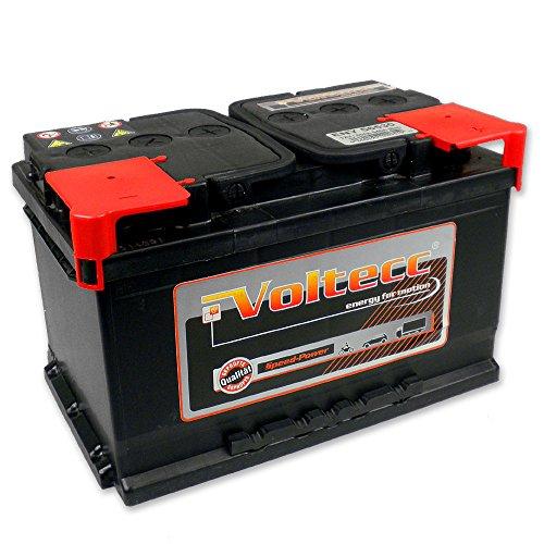 »Voltecc« Autobatterie 12V 65Ah 540A Starterbatteie PKW Batterie