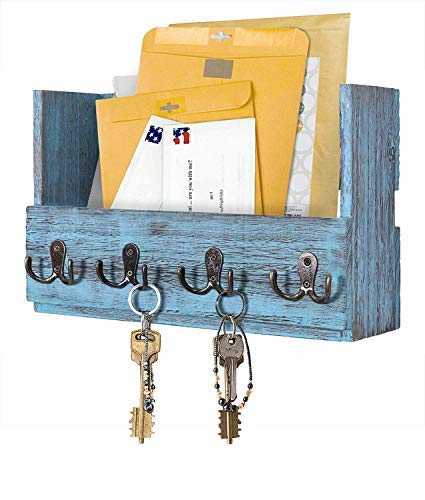 Comfify Organizador de madera para correo de montaje en pare