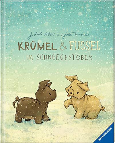 Krümel und Fussel - Im Schneegestöber