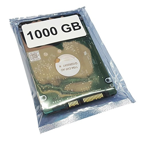 1TB, 1000GB HDD Disco Duro, componente Alternativo, Apto para Acer Aspire R7-372T-746N (SATA3 5400RPM)