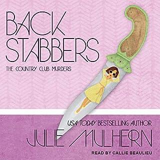 Back Stabbers audiobook cover art