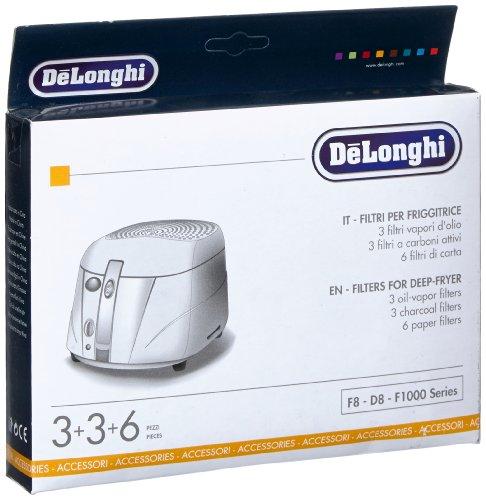 De Longhi F8-F1000 Filterset schwarz/weiß