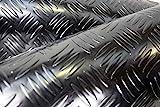 Olivo.shop Piso de caucho aislante, alfombra por metro para la industria en varios modelos y tamaños, diseño corrugado
