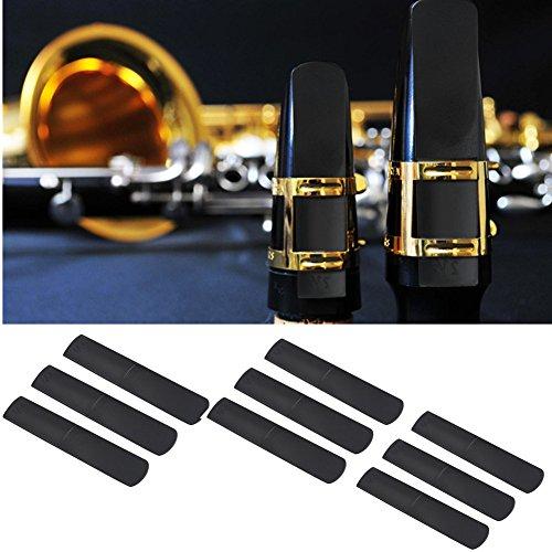 3Stks Plastic Alto Saxofoon Mondstuk Reeds 2.5 Onderdelen Reparatie Riet Saxofoon Accessoire Zwart