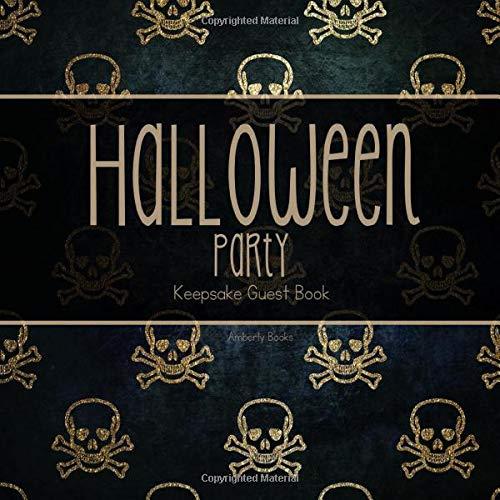 Halloween Party Keepsake Guest Book
