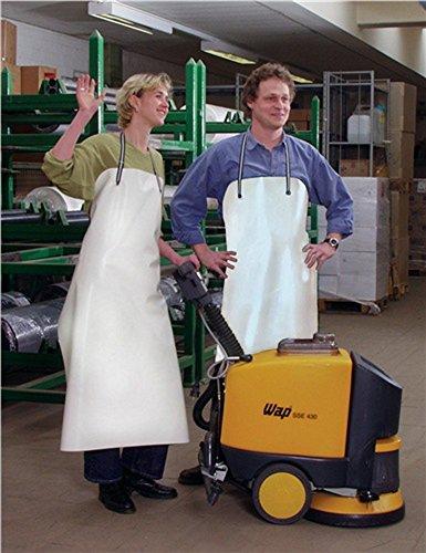 divers PVC-Säureschürze weiß S.0,5mm