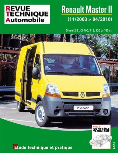Renault Master II Phase 2 2.5 DCI 11/03>04/10