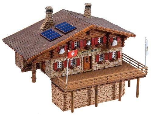 130329 - Faller H0 - Hochgebirgshütte Moser-Hütte