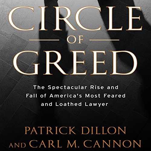 Circle of Greed audiobook cover art