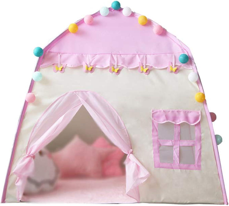 YMJJ Kinderspielzelt, MultiWare Deluxe Kinderprinzessin Castle Play House, Kinderspielzelt für Kinder Spielen Indoor als Geburtstagsspielzeug
