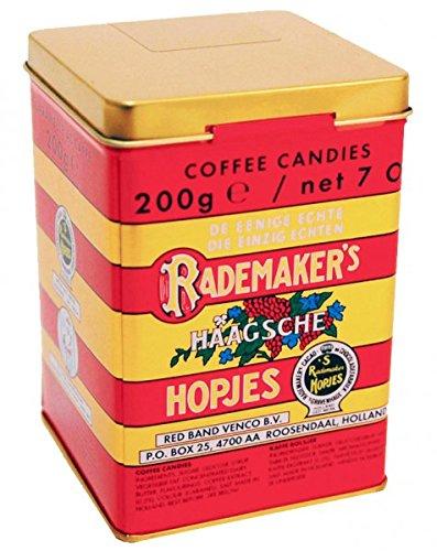 Rademakers Hopjes Kaffee Bonbons Blechdose 200 g