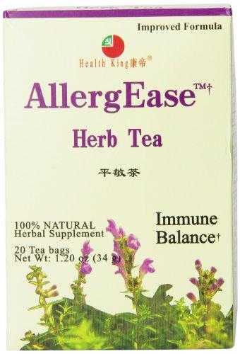 Health King Herb Tea, AllergEase, 20 Teabags