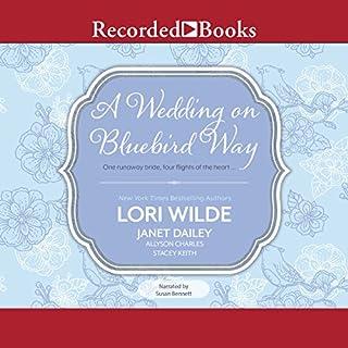 A Wedding on Bluebird Way audiobook cover art