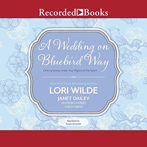 A Wedding on Bluebird Way audiobook cover art
