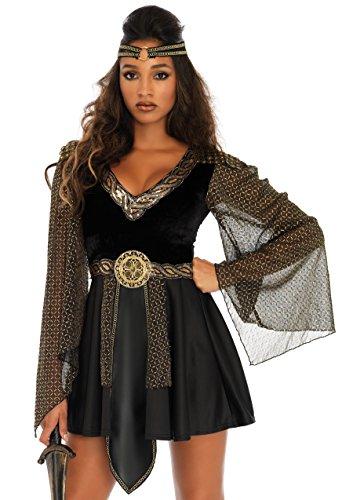 LegAvenue Damen Gl Warrior Kostüme, Black, L