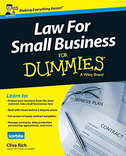 Law for Small Business For Dummies - UK