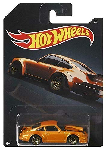 Hot Wheels 1:64 Scale Orange Porsche 934 Turbo RSR #5/6 Diecast Model Car