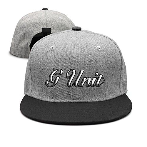 Websi Wihey G-Unit Flat-Brim Baseball Caps Unisex Adjustable Hat