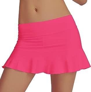 Women's Athletic Pleated Tennis Golf Skirt with Shorts Running Skort