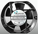 for KUFENG KF17251HA2BL 220V-240V 0.22A 38W 17215051mm Ball Bearing Cooling Fan (Socket)