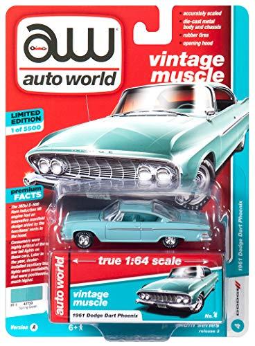 Autoworld 64202A-4 kompatibel mit Dodge Dart Phoenix Mint Maßstab 1:64