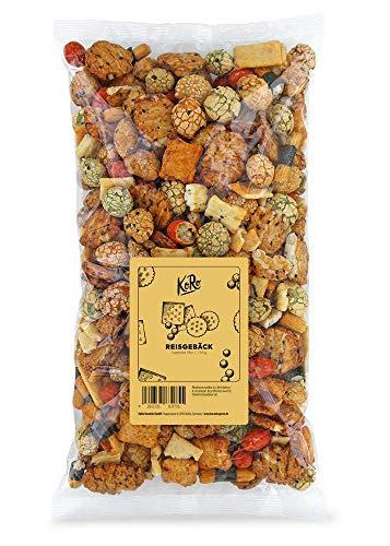 KoRo - Reisgebäck Mix Superior 750 g - Würzige Snack auf Basis von Reis für eine knackige Geschmacksexplosion