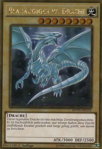 MVP1-DEG55 - Blauäugiger w. Drache - Gold Rare - Yu-Gi-Oh - Deutsch 1. Auflage