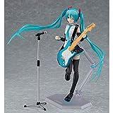 WISHVYQ Miku Anime Modelo móvil en Caja Oficina de Mano Aberdeen versión Escultura decoración Estatua muñeca Modelo de Juguete Altura 14 cm