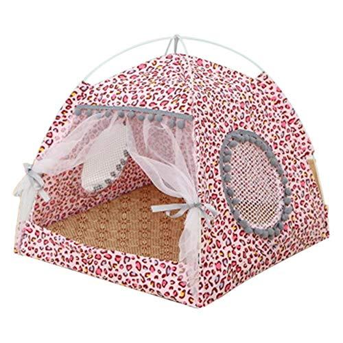 Demarkt Tienda de verano para mascotas, caseta para perros, desmontable, lavable, plegable,...