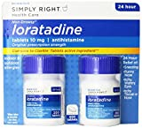 Member's Mark 10 mg Loratadine Indoor & Outdoor 24 Hour Allergy Relief Non-drowsy Tablets 200 ct., 2 pk. (400 Tablets Total)