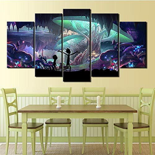 TXFMT No Frame Canvas Decoration Painting Handmade DIY Bar DJ Music Pictures Paintings on Canvas Wall Art Ready to Hang for Home and Office Decoration d/écor