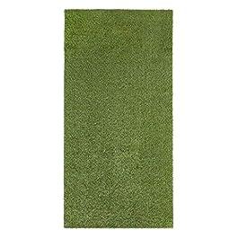 andiamo Jever Gazon Artificiel Vert en Rouleau pour terrasse, Balcon, Couleur : Vert, Dimensions : 100 x 200 cm