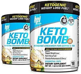 BPI Sports Keto Bomb Creamer French Vanilla (Pack of 2)