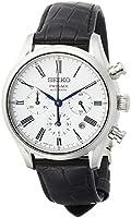 [セイコーウォッチ] 腕時計 プレザージュ 琺瑯ダイヤル メカニカル デュアルカーブサファイアガラス SARK013 メンズ ブラック