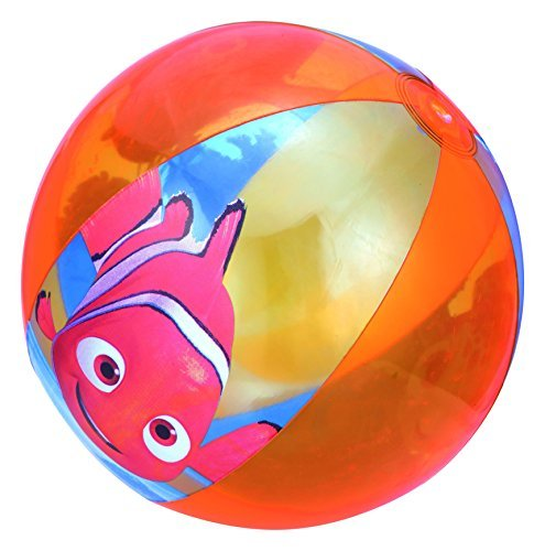 Bestway 20-inch Finding Nemo Beach Ball with Safety Valve by Disney
