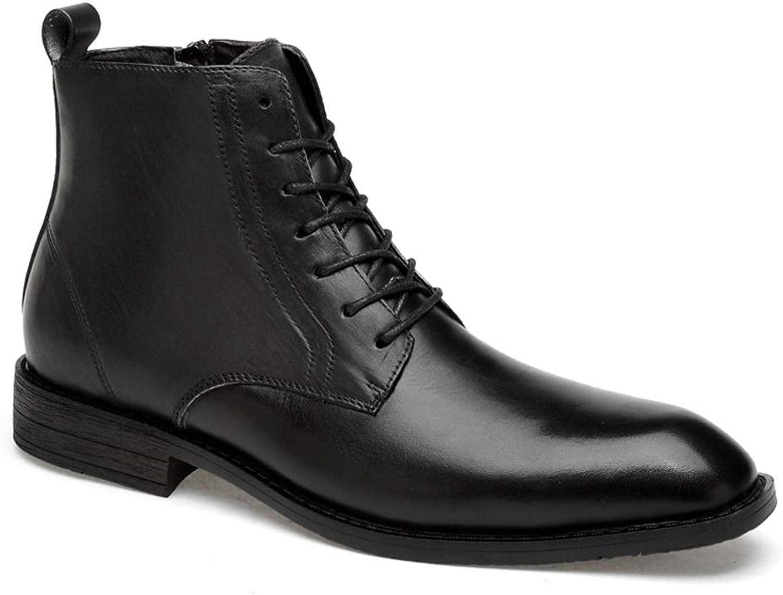 Begåvade skor för män, skor för män, skor för män, män, män, skor för skor med ögrönlar av skor Martin stövlar (färg  svart, storlek  41)  otroliga rabatter